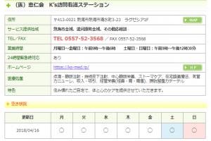 静岡県訪問看護ステーション協議会に登録しています!